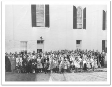Church Re-dedication in 1946