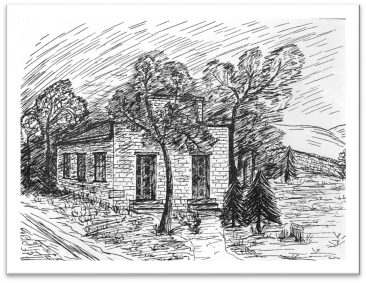 Mt. Hebron Church of the United Brethren 1845-1870